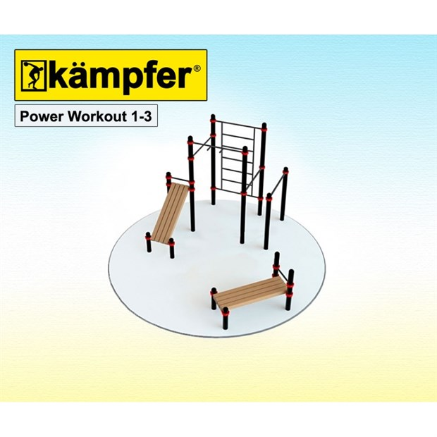 Kampfer Power Workout 1-3, +7(495)128-07-98, kampfer-shop.ru