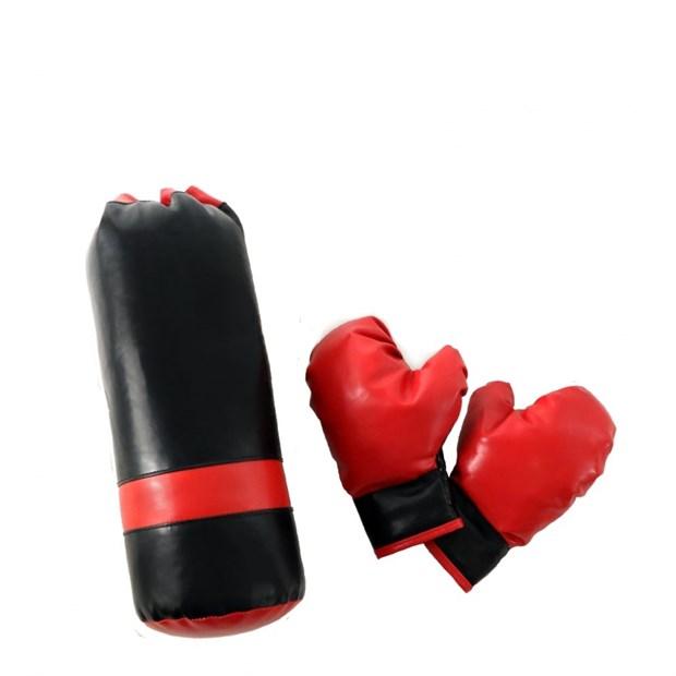 Набор боксерский мешок-груша и перчатки детские Midzumi M006571 - фото 9679