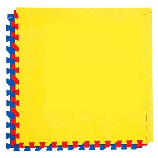 Мягкий пол eco cover разноцветный 60*60 (см) 1,44 (м2) с кромками 60МП - фото 9805