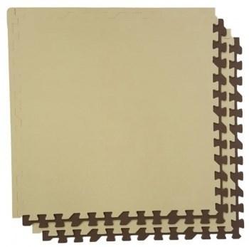 Мягкий пол eco cover разноцветный 60*60 (см) 1,44 (м2) с кромками 60МП - фото 9818