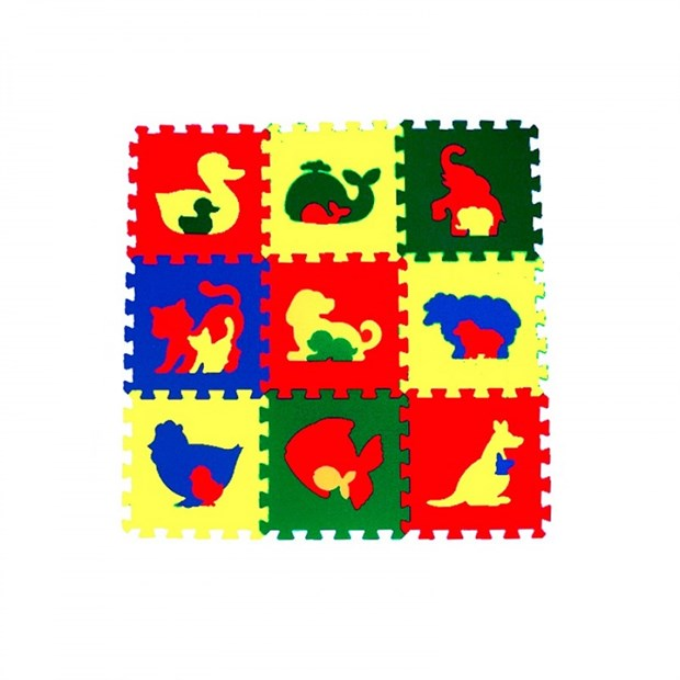 """Коврик-пазл детский eco cover """"Животные"""" 33МП1/Ж - фото 9856"""