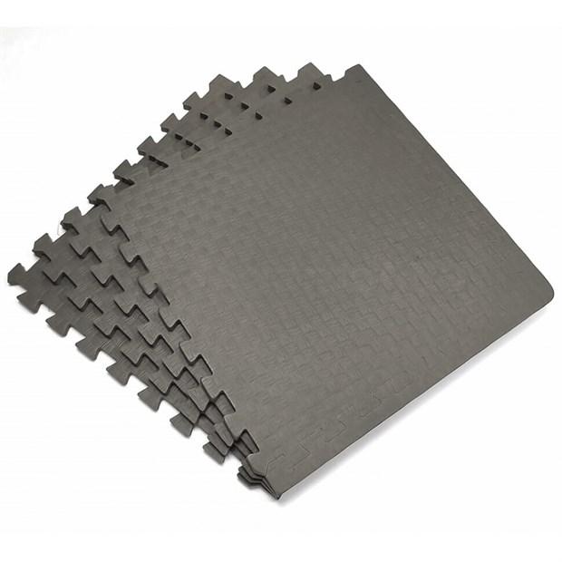 Коврик-пазл eco cover Мягкий пол Спорт 500x500x14 423 серый - фото 9905
