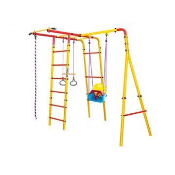 Midzumi Mori Small уличный детский спортивный комплекс с качелями 3 в 1