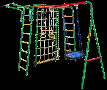 Kampfer Kindisch (62 см) Уличный детский спортивный комплекс + качели гнездо (62 см)
