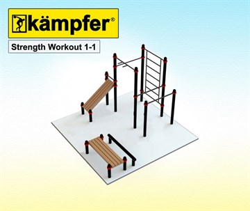 Kampfer Strength Workout 1-1, +7(495)128-07-98, Kampfer-shop.ru