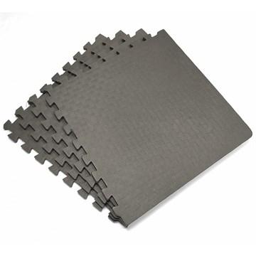 Коврик-пазл eco cover Мягкий пол Спорт 500x500x14 423 серый